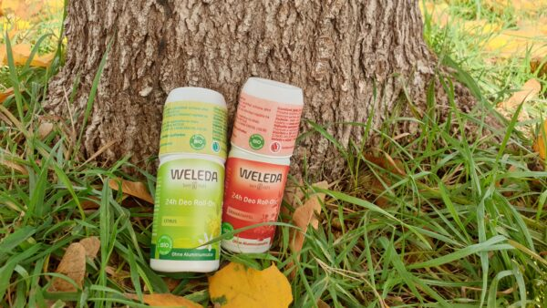 Recenze: Weleda Deodorant roll-on 24h (Granátové jablko, Citrus)