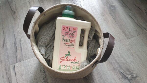 Recenze: Prací gel JELEN Jelínek mimi na dětské prádlo s Panthenolem