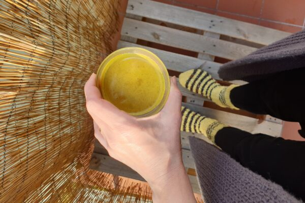 Recept na Zlaté mléko a recenze Sonnentor Kurkuma Latte