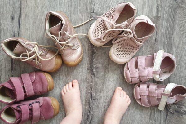 Téma: Barefoot / bosá obuv + dětská noha