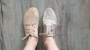 Barefoot obuv / bosá obuv